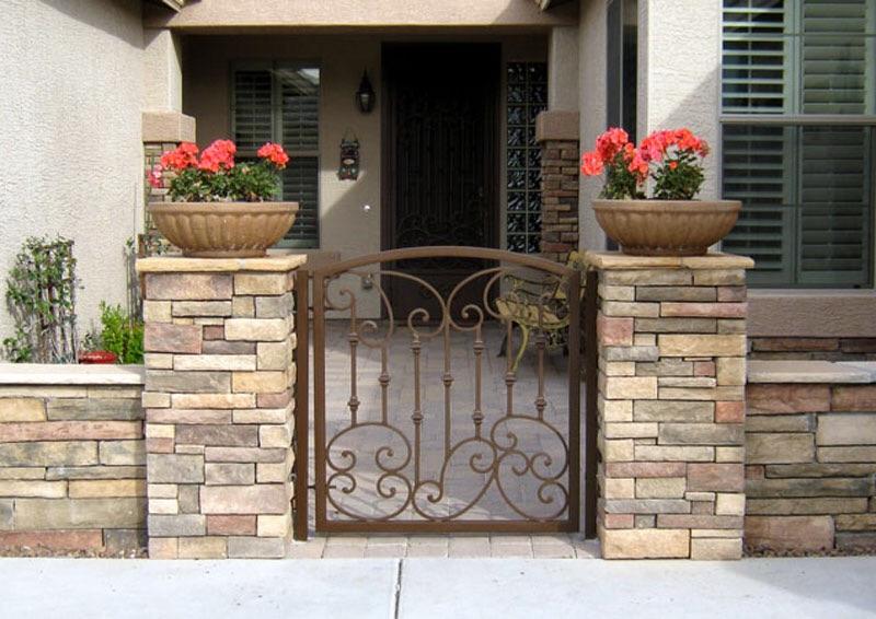 Courtyard Gates Ironman Pool Fence
