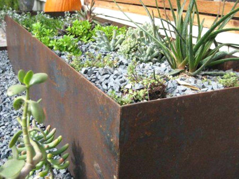 Front Garden Planter Boxes
