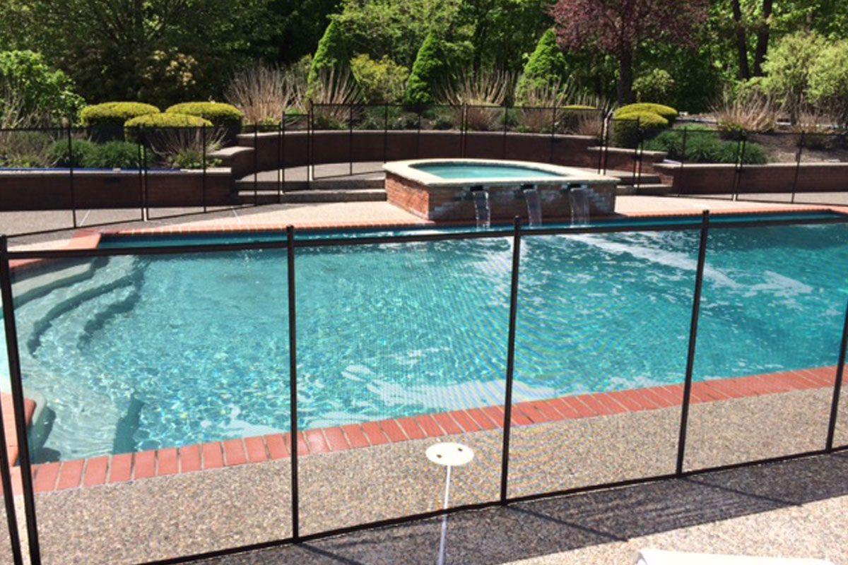 Mesh Pool Fence - IRONMAN Pool Fence