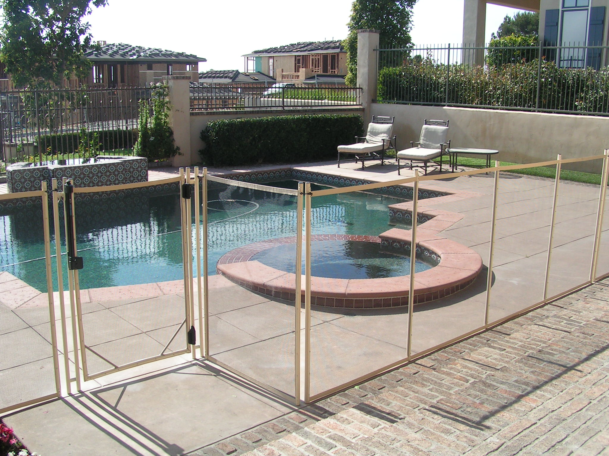 Mesh Pool Fence Ironman Pool Fence