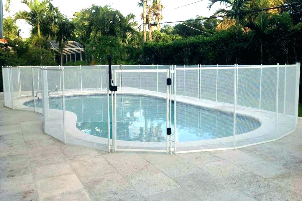 Mesh Pool Fence - IRONMAN Pool Fence
