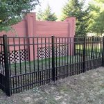 Dog Run Fence