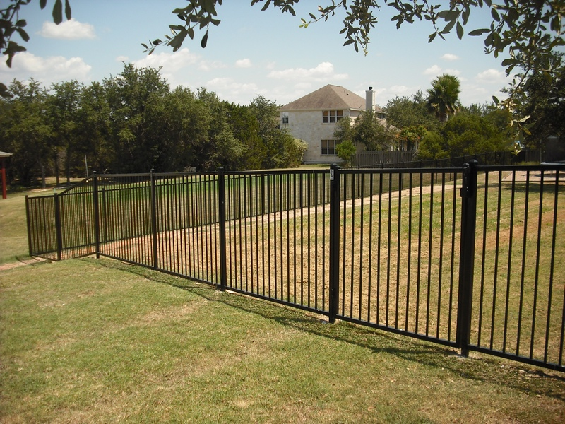 Perimeter Fence Ironman Pool Fence